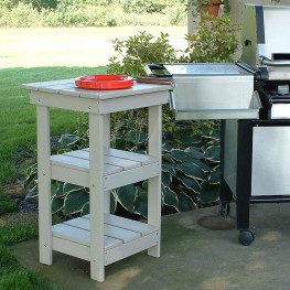 Poly Lumber Grill Table