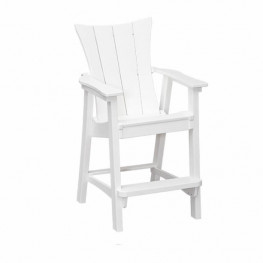 Casual Comfort Poly Lumber Wavz Counter Chair