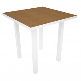 POLYWOOD Euro 36in Square Counter Table