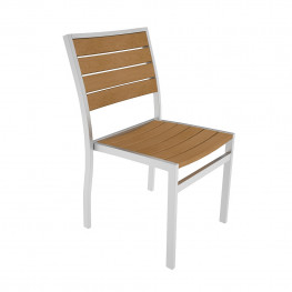POLYWOOD Euro Side Chair with Plastique