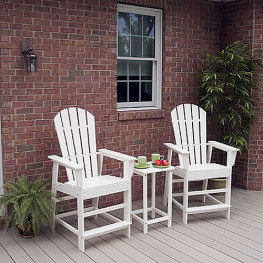 POLYWOOD South Beach Counter Seating Set