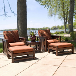 POLYWOOD® 5 Piece Lounge Set