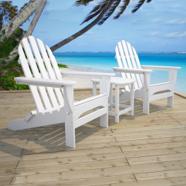 POLYWOOD® Adirondack Bay Seating Set