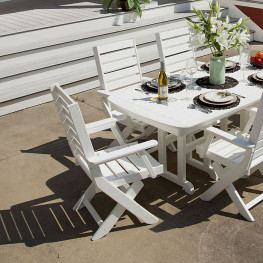 POLYWOOD Captain Dining Chair