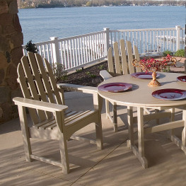 POLYWOOD Classic Adirondack Casual Chair