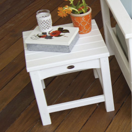 POLYWOOD Club Side Table
