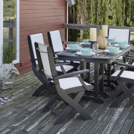 POLYWOOD® Coastal Folding Chair