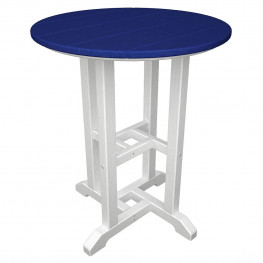 POLYWOOD Contempo 24 Inch Dining Table