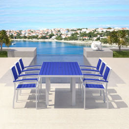 POLYWOOD® Euro Seaside Dining Set