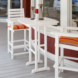 POLYWOOD Nautical 31 in Bar Table