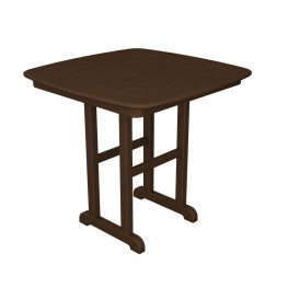 POLYWOOD Nautical 31 Inch Dining Table