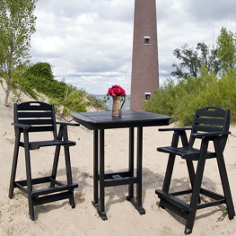 POLYWOOD Nautical Bistro Set