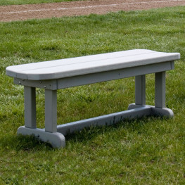 POLYWOOD Park 48 in Backless Bench