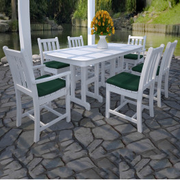 POLYWOOD Traditional Garden 7-Piece Dining Set