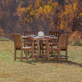 POLYWOOD Traditional Garden 5-Piece Dining Set