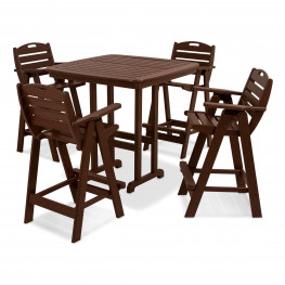 POLYWOOD® Nautical 5-Piece Bar Set