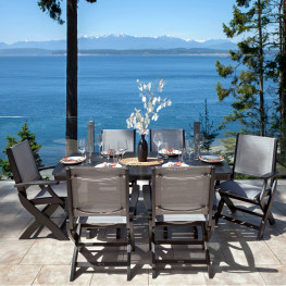 POLYWOOD® Coastal 7-Piece Dining Set