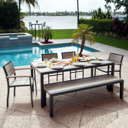 POLYWOOD® Metro™ 6-Piece Dining Set