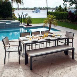 POLYWOOD® Metro™ 7-Piece Dining Set