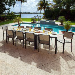 POLYWOOD® Metro™ 12-Piece Dining Set