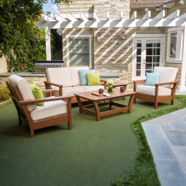 POLYWOOD® Harbour 4-Piece Outdoor Living Set
