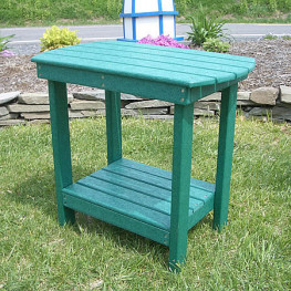 Recycled Poly Accent Table