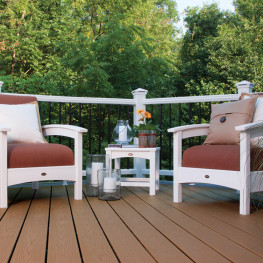 Trex® Outdoor Furniture Rockport 18 in Club Side Table