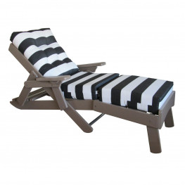 Amish Poly Caribbean Chaise Lounge
