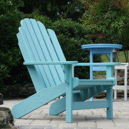 Polywood Breezesta Shoreline Adirondack Chair