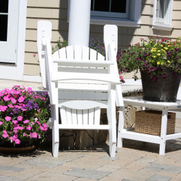 Sister Bay Hyannis Folding Adirondack Chair