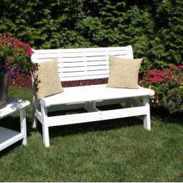 Sister Bay Newport 48 in Bench with Back