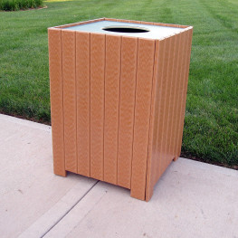 Standard Square Receptacle - 20 gal