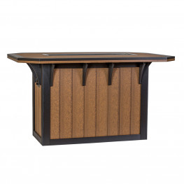 Amish Poly 46 x 72 SummerSide Ice Bar Table