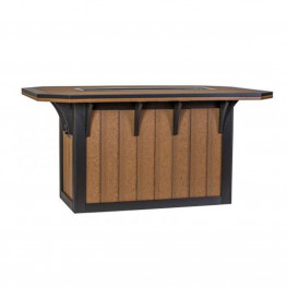 Amish Poly 46 x 72 SummerSide Ice Counter Table