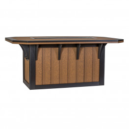 """Amish Poly 72"""" x 46"""" SummerSide Ice Dining Table"""