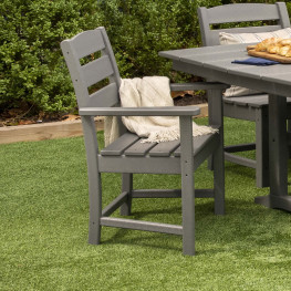 POLYWOOD® Lakeside Dining Arm Chair