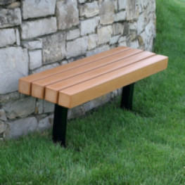Trailside 4' Backless Bench
