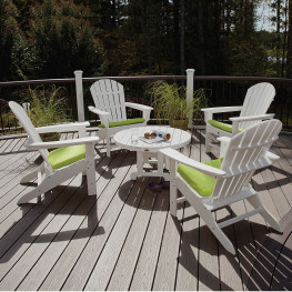 Trex® Cape Cod Adirondack 5-Pc. Conversation Group