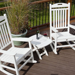 Trex® Outdoor Furniture Yacht Club 21 in x 18 in Side Table