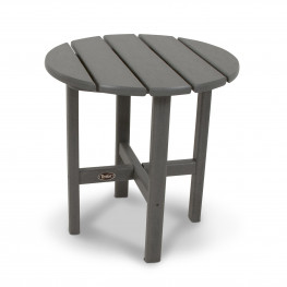 Trex® Outdoor Furniture Cape Cod 18 in Round Side Table in stepping stone