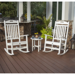 Trex® Outdoor Furniture Yacht Club Rocker 3 Piece Set