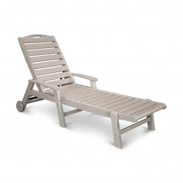 Trex® Outdoor Furniture Yacht Club Wheeled Chaise Lounge