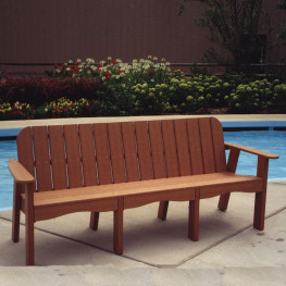 Outdoor Polywood 174 Benches Outdoor Wooden Benches Cheap