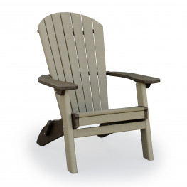 Amish Poly Wood SeaAira Adirondack Folding Chair