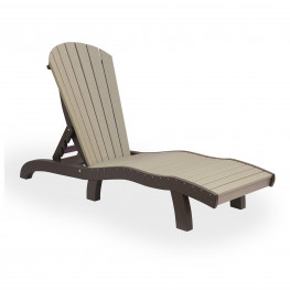 Amish Poly Wood SeaAira Lounge Chair