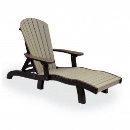 Amish Poly Wood SeaAira Lounge Chair w/ Arms