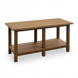 Amish Poly Wood Avonlea Garden Coffee Table
