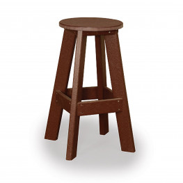 Amish Poly Wood Bar Stool