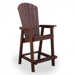 Amish Poly Great Bay Bar Chair