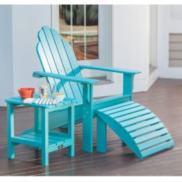 Malibu Outdoor Yarmouth Adirondack Seating Set
